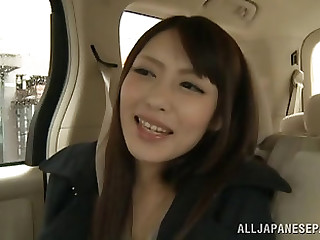 Ayu Sukarai driven residence then smashed hardcore in threesome porn