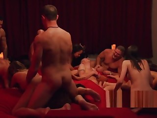 Audacious Swingers Getting Naked On Cameras