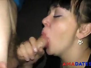 Sucks and swallows