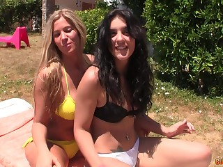 Inviting comme ci enjoys memorable increased by hard foursome with her friends