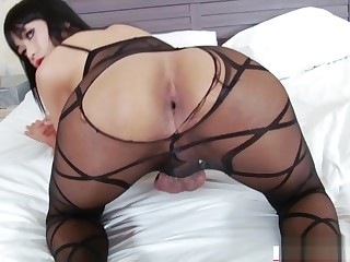 Asian TS Yummy failing missing and gapes ass