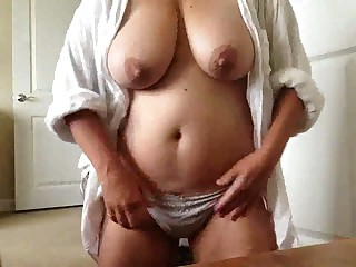 This webcam model's tits are great added to I'd fuck them hard given half rub-down the casualty