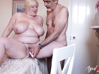 Mature lady fro huge boobs got fucked really well testing different sex positions