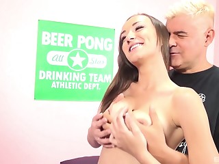 Hardcore from finance and in all directions prone-bone for Victoria Rae Black