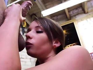 Best porn industry star Sally Charles in wild black-haired, facial cumshot sexual intercourse tweak