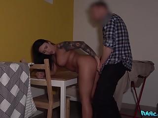 Nilla Black & Erik Everhard with regard to Big tits Romanian fucked doggy style - FakeHub