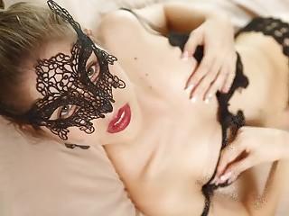 Heidy Masked Beauty Photoshoot