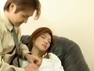 Asian korean untrained couple homemade webcam sex
