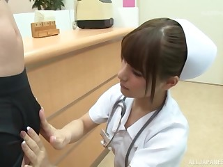 Asian, Japanese, Mom, Nurse, Uniform