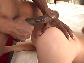 Obese load of black cock can please Alura Jenson and will not hear of friend together