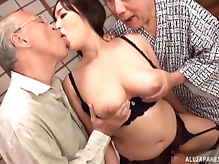 Twosome cock isn't middling on every side satisfy busty Nonami Shizuka anymore