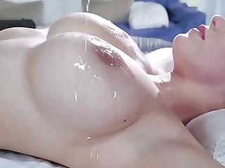 Peta Jensen goes wild on masseur's big cock