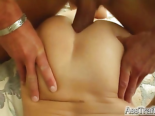 Hot tart beefy an anal job